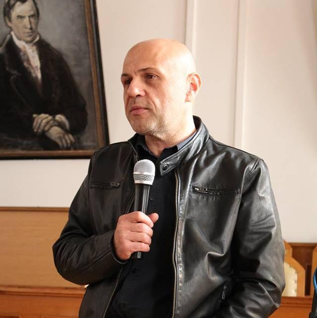 Томислав Дончев при откриването на Лагер за иновации в Габрово, 21 октомври 2017 © Община Габрово