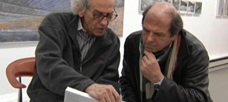 """Кадър от филма на Тома Томов """"Кристо на 75"""""""