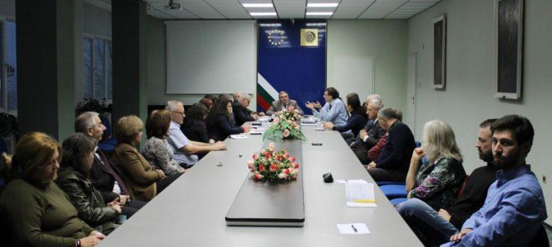 "Среща по проекта ""(Висше) образование и интелигентна специализация (ВОИС)"" в Габрово"