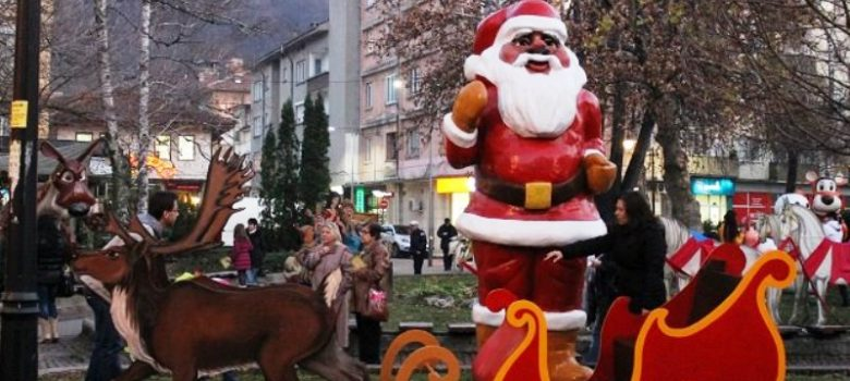 Детско коледно градче в Габрово
