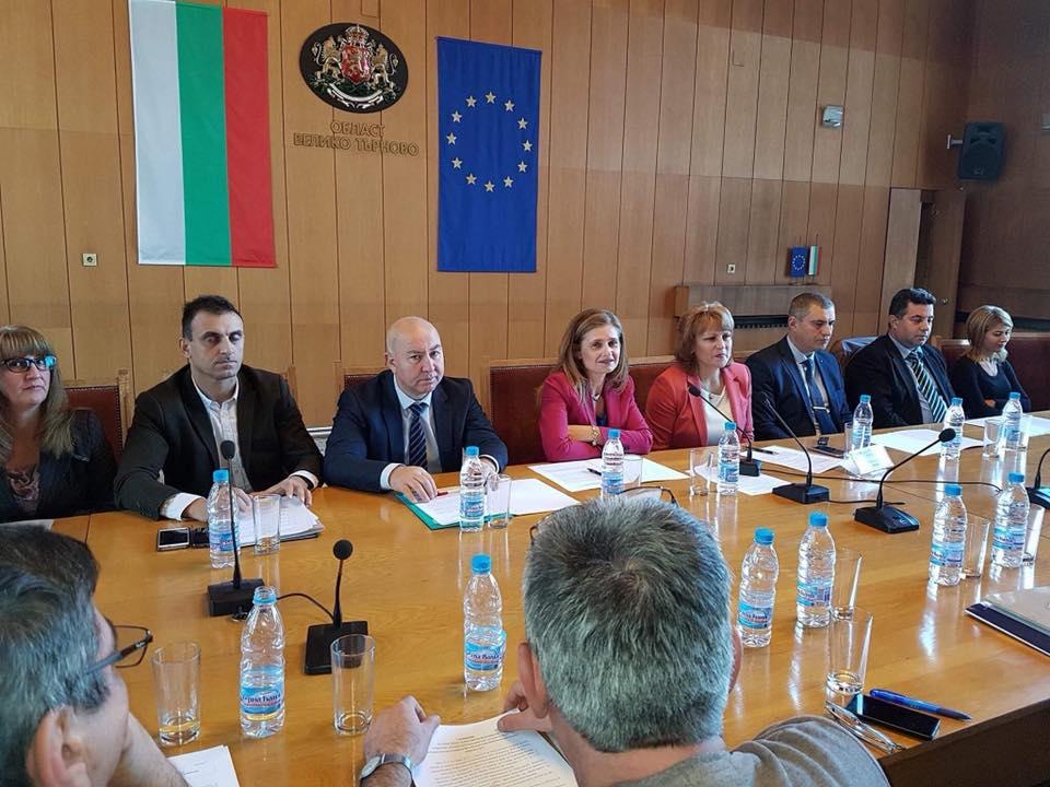 Заседание на Регионалния съвет за развитие на Северен централен район (СЦР), Велико Търново, 12.12.2017 © Областна администрация Габрово