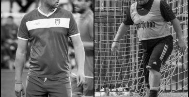 В памет на бившите габровски футболисти Мартин Михов и Благовест Петров © sport-gabrovo.com