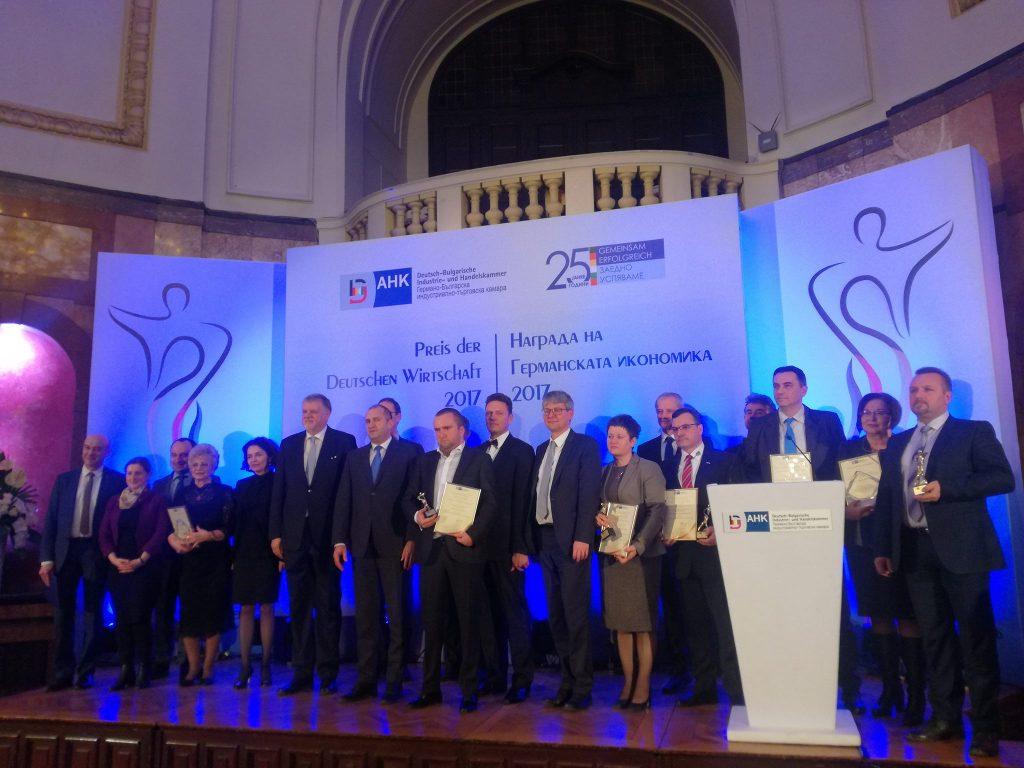 Награди на Германската икономика в България, 25 януари 2018 © Германо-Българска индустриално-търговска камара