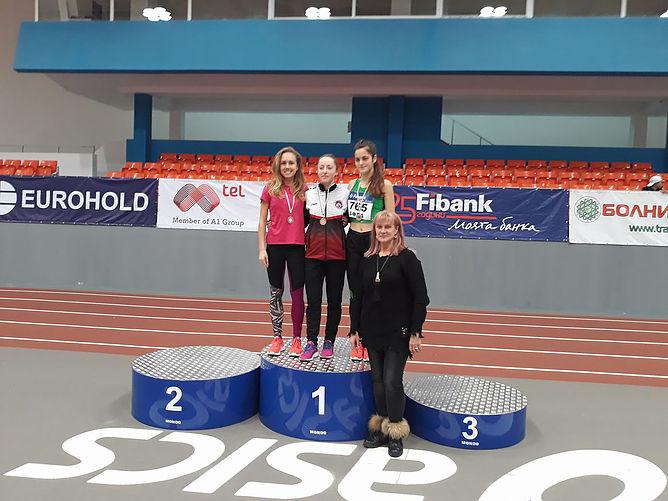 """4 медала за АК """"Орловец-93"""" от Национален шампионат по лека атлетика на закрито"""