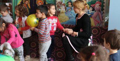 Кметът на Габрово Таня Христова на посещение в детска градина © Община Габрово