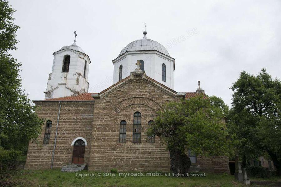 """Църквата """"Св. Възнесение Господне"""" в село Крамолин"""