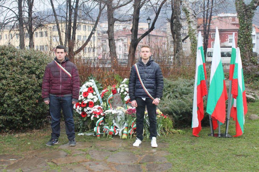 Възпоменателно поклонение за Левски в Габрово, 19 февруари 2018 г. © Община Габрово
