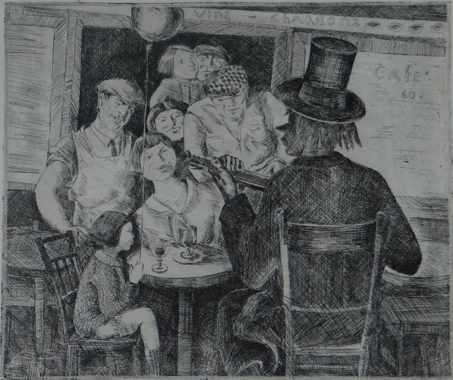 """Пенчо Георгиев, """"Клоун"""", 1930"""