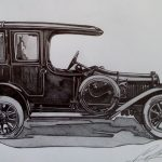 Laurin & Klement Sg 1913-1915. Рисунка: Стефан Иванов