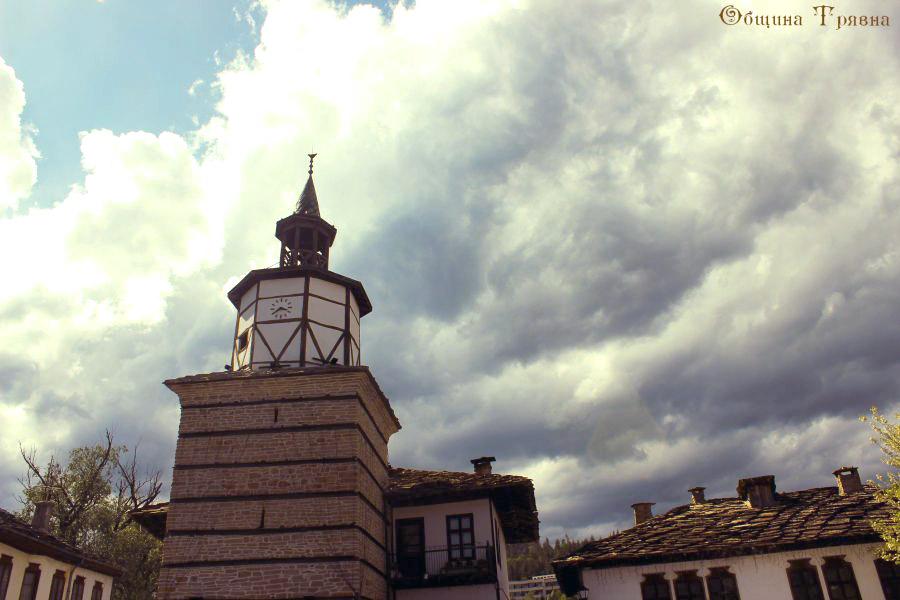 Трявна, старата часовникова кула