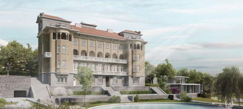 Дипломен проект за възстановяване на вилата на Пенчо Семов в Габрово. Автор: Незабравка Тушнина
