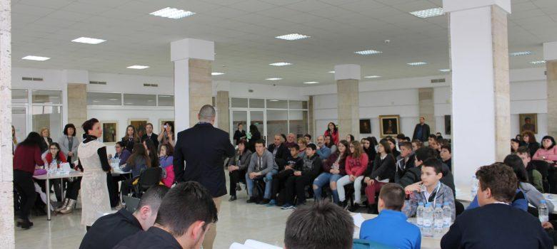 Събитие с ученици от Габрово за Световната седмица на парите