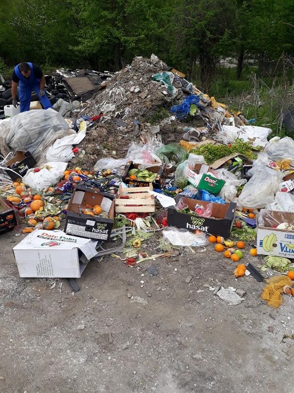 Пролетно почистване 2018: Терен до Пречиствателната станция © Община Габрово