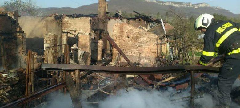 Пожар в с. Яворец © РДПБЗН – Габрово