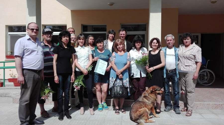 """Обучение на КНСБ Габрово за безработни по проект """"Ние също можем"""""""