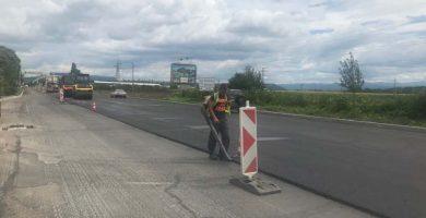 Ремонт на пътя Севлиево - Габрово © МРРБ