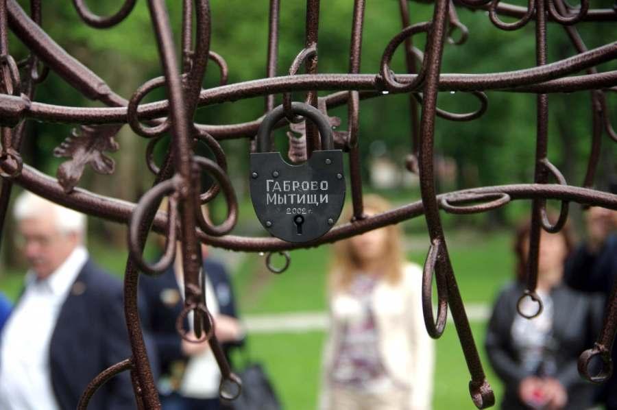 Дърво на верността и любовта в парк Маркотея © Община Габрово