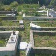 Поругани от вандали гробища в с. Градница, Севлиевско. Снимка: Д-р Иван Иванов