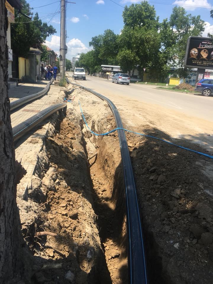 Без вода в жк Митко Палаузов в Севлиево, 16 юли 2018 г. © ВиК Бяла