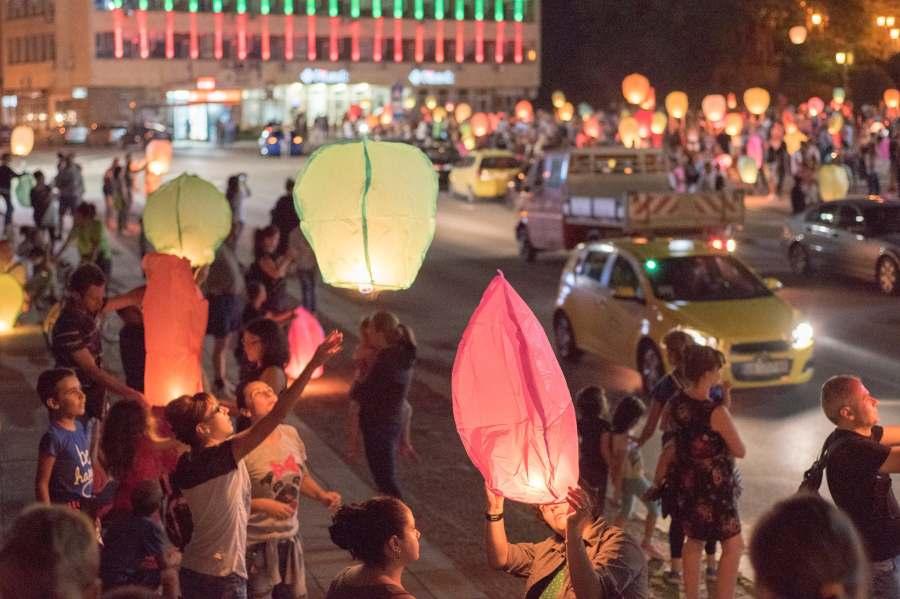 Фестивал на хартиените фенери в Габрово 2017