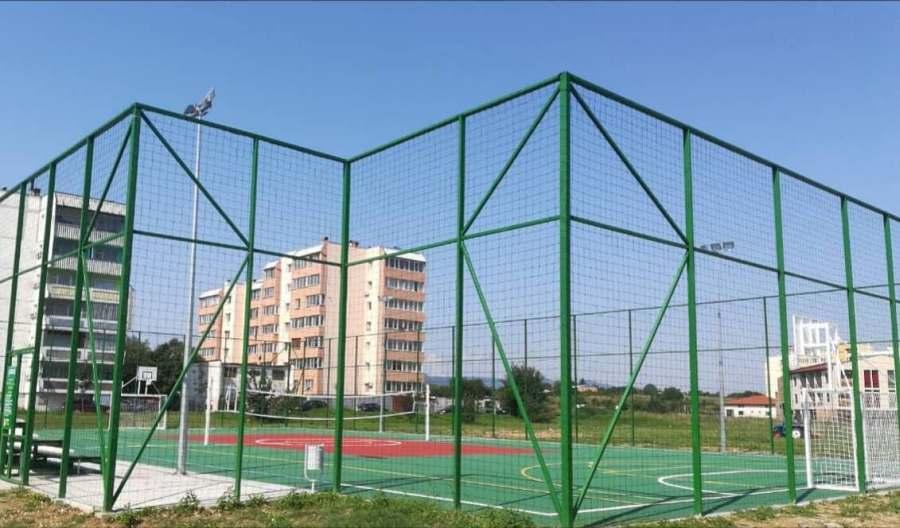 Мултифункционално игрище в Севлиево © Община Севлиево