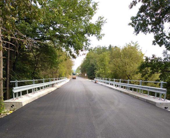 Ремонтираният мост при село Новаковци © АПИ