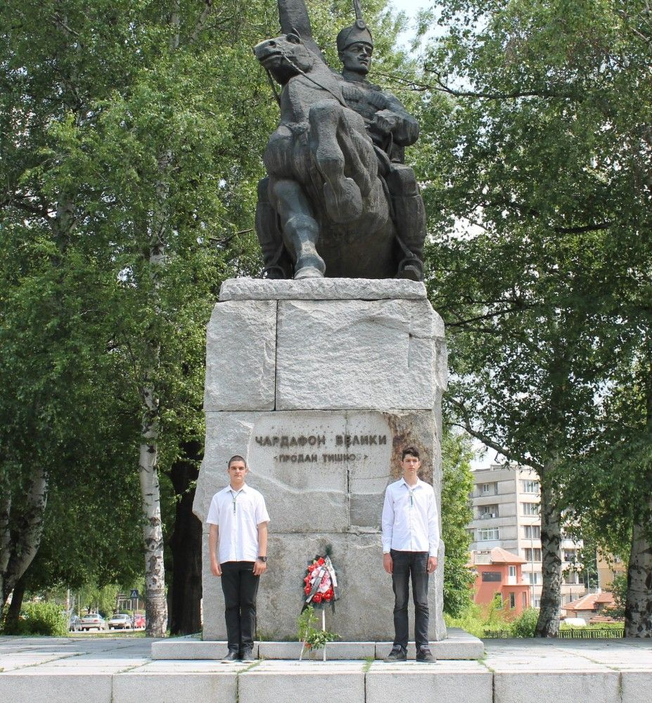 Паметник на Продан Тишков - Чардафон в Габрово © Община Габрово
