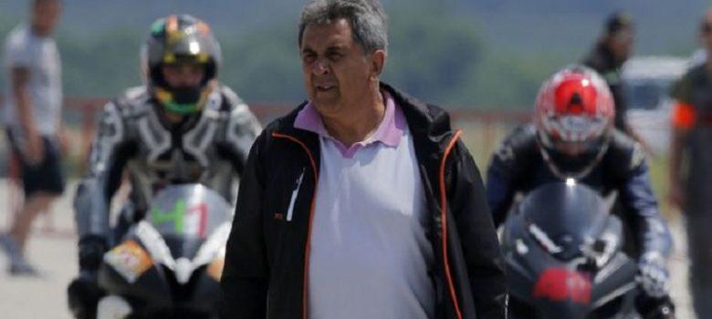 Богдан Николов, президент на Българска федерация по мотоциклетизъм © БФМ