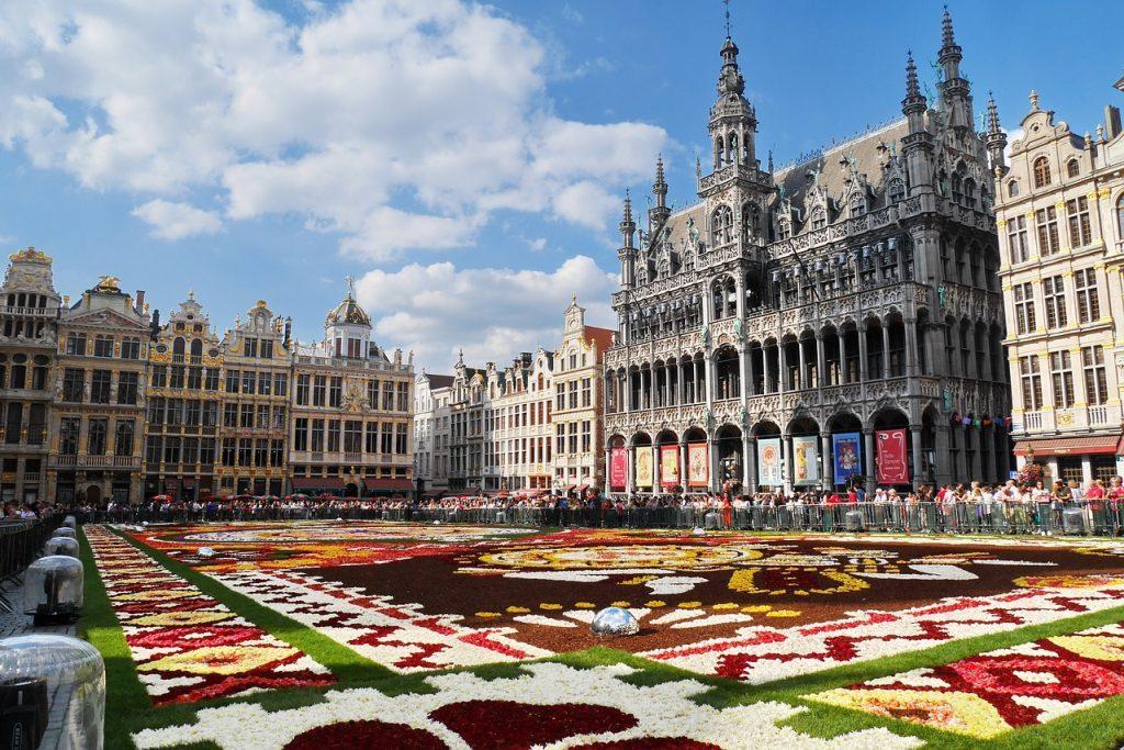 Площад Grand-Place в Брюксел, Белгия. Pixabay