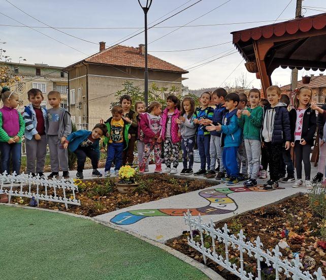 "Детска градина ""Дъга"" в Габрово с ново екопространство ""Образователна градинка за деца"" © Община Габрово"
