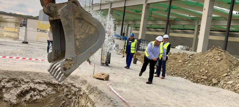 """""""Паралел"""" ЕАД - Севлиево с първа копка на нови производствени и складови помещения © Областна администрация Габрово"""