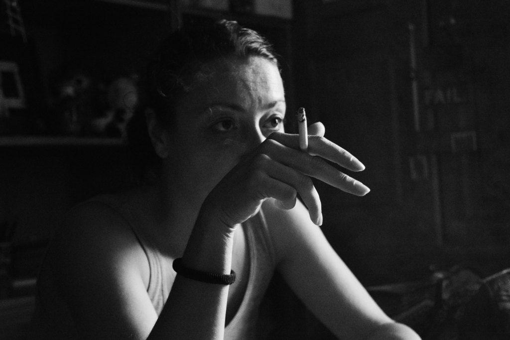 """""""Повторение на цигарения дим"""". Фотограф: Bellamy Byron"""
