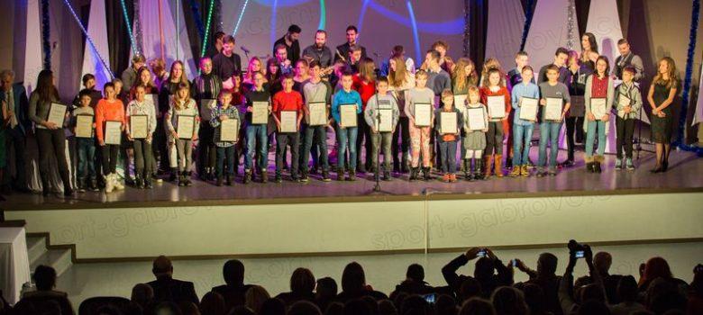 """Деца-спортисти, отличени на церемонията """"Спортист на годината"""" 2018 © sport-gabrovo.com"""