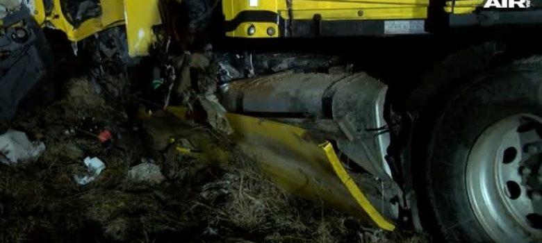 Тежка катастрофа край Севлиево © Bulgaria On Air