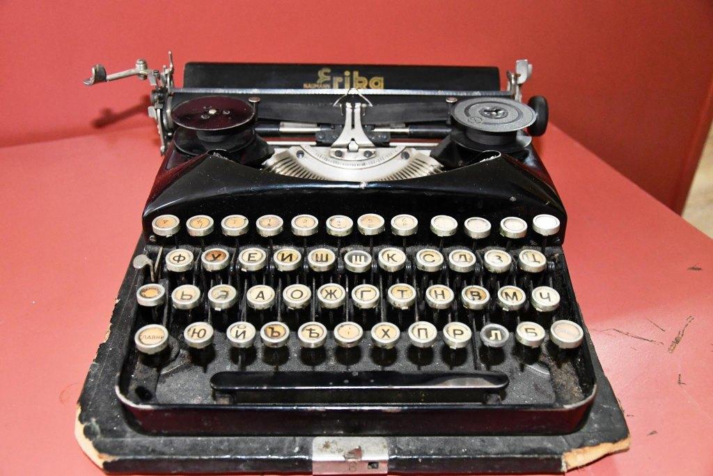 Пишещата машина на Радой Ралин