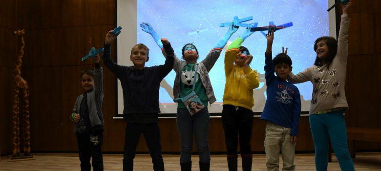 """Образователна програма """"Космически предизвикателства за деца"""" в ДХС © ДХС"""