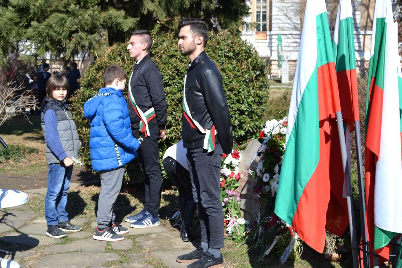 Габрово почете 146 години от обесването на Васил Левски, 19.02.2019 © Община Габрово