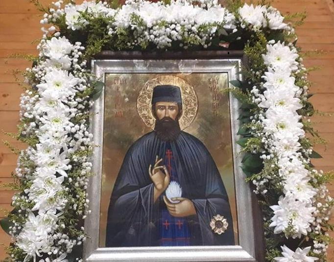 Икона на свети Ефрем Нови
