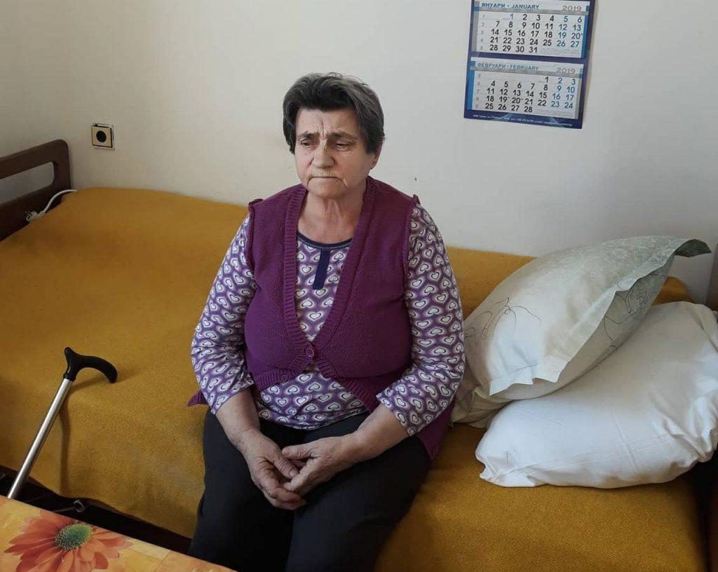 """Баба Станка. Снимка: """"Габровски майки даряват надежда"""""""